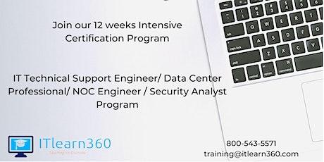 IT Technical Support Engineer/Data Center Professional/NOC Engineer Program tickets