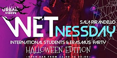 WETnessday Party! Fiesta Erasmus – Plaza España entradas