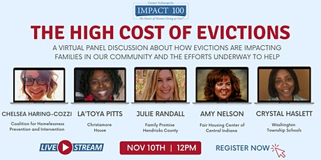 The High Cost of Evictions: An Impact 100 Virtual Panel Discussion tickets