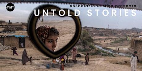 """Inaugurazione Mostra """"Untold Stories"""" biglietti"""