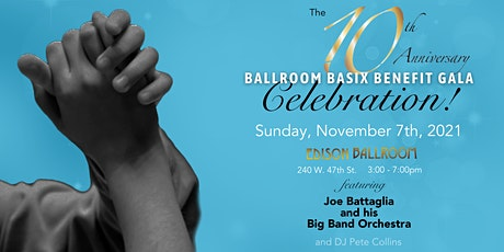 10th Anniversary Gala Benefitting Ballroom Basix tickets