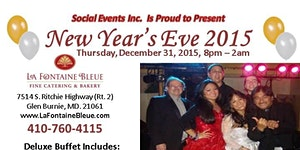 Social Events Inc. Presents A 2015 New Year's Eve Gala