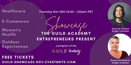 GUILD Academy Showcase - Startup Pitches Tickets
