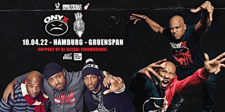 Onyx & Lords Of The Underground Live in Hamburg - Gruenspan Tickets