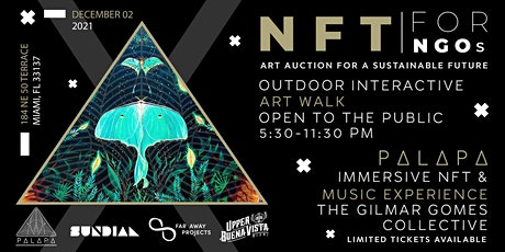 NFTs for NGOs: Art Auction for a Sustainable Future tickets