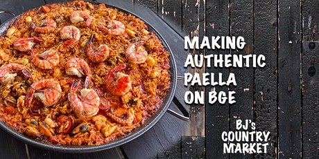 Making authentic Paella on the Big Green Egg tickets
