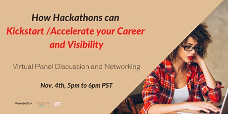 How Hackathons can  Kickstart /Accelerate your Career and Visibility tickets