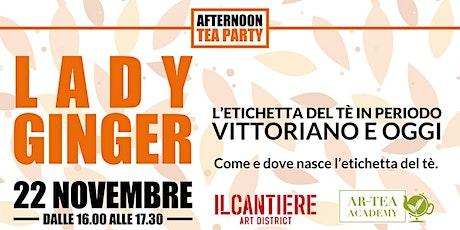 Tea party con Gabriella Scarpa biglietti