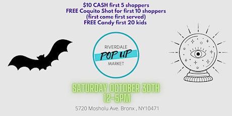 Spooktacular Pop-Up Market Riverdale Bronx tickets