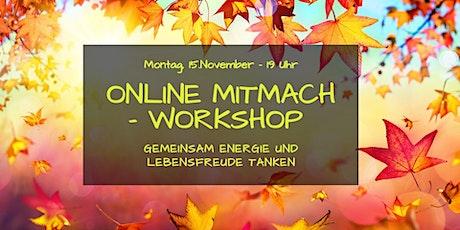 Mitmach-Workshop: Gemeinsam Energie und Lebensfreude tanken Tickets