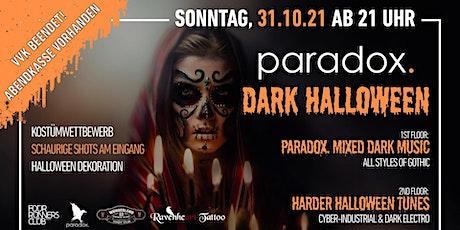 Dark Halloween Party - Paradox Ludwigsburg Tickets