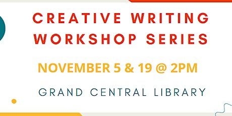 Creative Writing Workshop Series (Adults) tickets