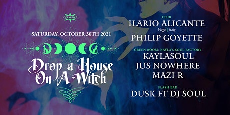 Halloween: Drop a House on a Witch ft. Ilario Alicante tickets
