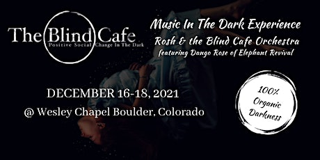 The Blind Cafe Experience tickets