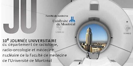 JU 2022 - Département de radiologie, radio-oncologie et médecine nucléaire billets