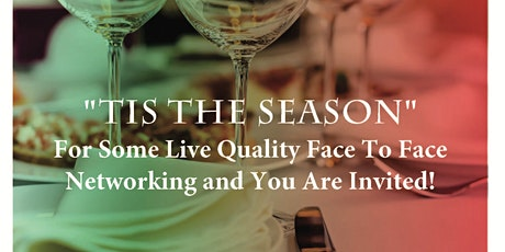 Holiday Business Networking Live in Tampa Bay with Food and Fun ! tickets