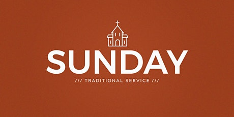 October 31: 8:30am Traditional Service (HC) tickets