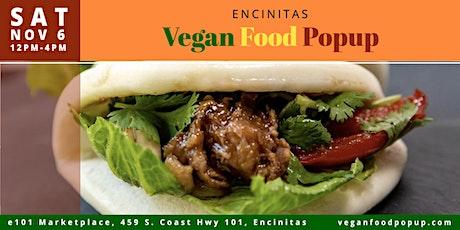 November 6th Encinitas Vegan Food Popup tickets
