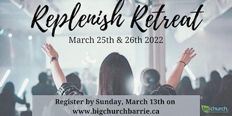 Replenish Retreat 2022 tickets