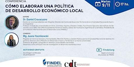 Cómo elaborar una política de Desarrollo Económico Local entradas