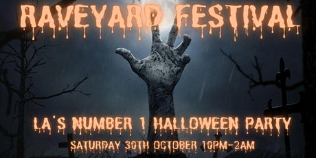 RAVEYARD HALLOWEEN FESTIVAL (GRAND OPENING OF WHITLEY OUTDOOR THEATER) tickets