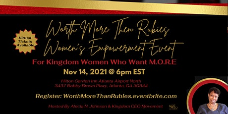 Worth More Than Rubies Women's Empowerment Conference tickets