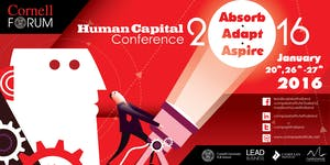 Cornell Forum 2016: Human Capital Conference 2016