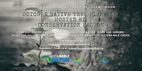 October Native Tree Planting tickets