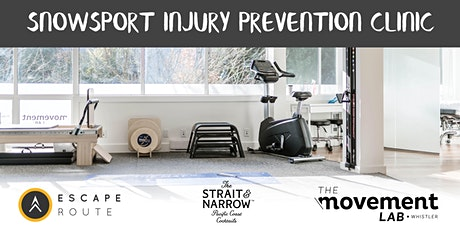 Snow Sport Injury Prevention Clinic tickets