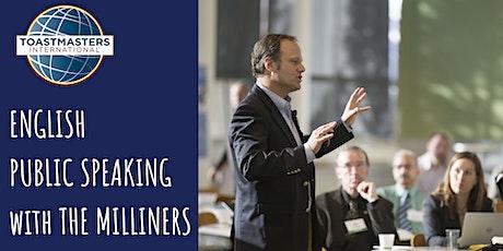 Learn Public Speaking (in English) - Toastmasters The Milliners Club biglietti