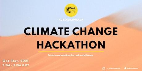 Grand Finale: Climate Change Hackathon tickets