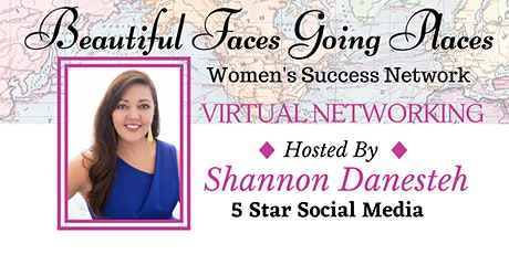 Virtual Networking on Zoom  - Hosted by: Shannon Danesteh tickets