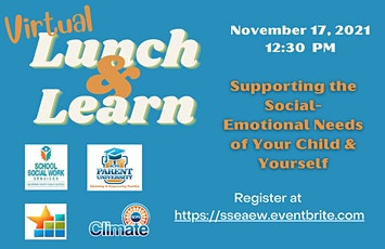 Supporting the Social-Emotional Needs of Your Child & Yourself tickets