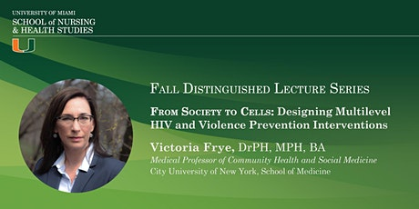SONHS FALL DISTINGUISHED LECTURE SERIES tickets
