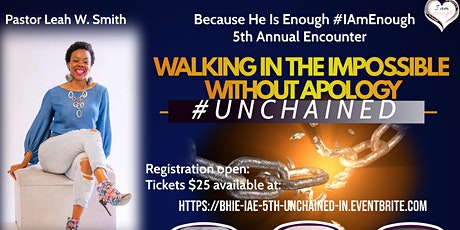Because He Is Enough #IAmEnough 5th Annual Encounter IN tickets