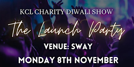 KCL Diwali Show 2021: Launch Party tickets