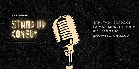 Best Of Stand Up Comedy LATE SHOW | Berlin-Prenzlauer Berg Mad Monkey Room Tickets