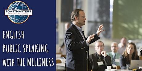 Public Speaking (in English) - Toastmasters The Milliners Club biglietti