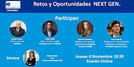 Retos y oportunidades de los fondos NextGen en el sector inmobiliario entradas