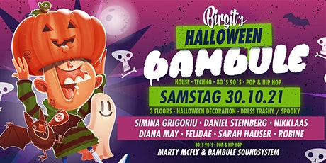 Birgit´s Halloween Bambule (House, Techno, 80s 90s, Pop & Hip Hop) Tickets