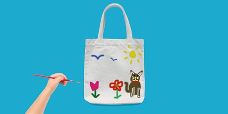 School Holiday Fun: Decorate Your Own Library Bag tickets