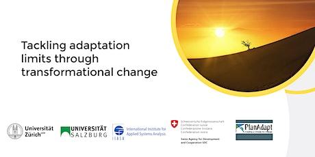 Tackling adaptation limits through transformational change tickets