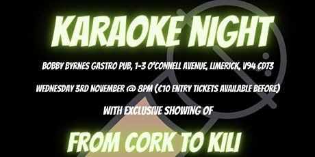Karaoke for Kili tickets