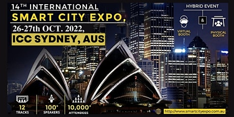 14th International Smart City Expo 2022, ICC Sydney & Live Streaming tickets