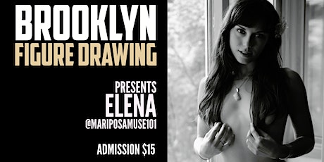 Brooklyn Figure Drawing Tuesday Zoom  Session -  Elena tickets