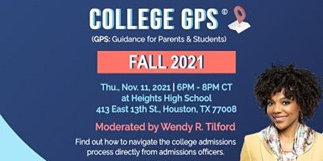 College  GPS (Guidance Parents and Students) tickets