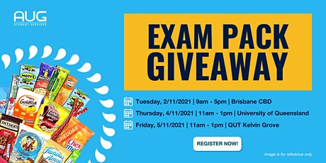 [AUG Brisbane] AUG Exam Pack Giveaway tickets