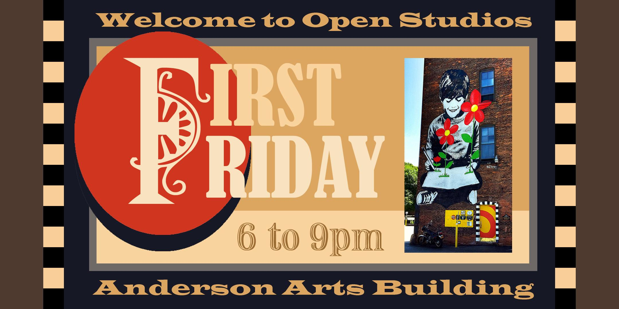 First Friday Open Studios 6-9pm