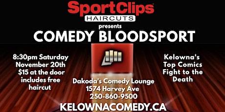 SportClips presents Comedy Bloodsport tickets