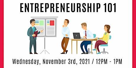 Entrepreneurship 101 tickets